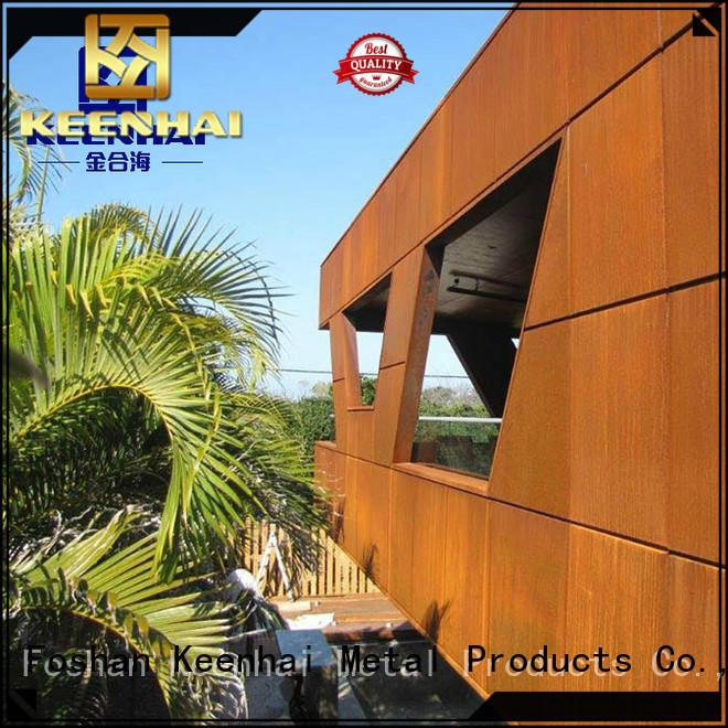 corten steel cladding corten for indoor decoration Keenhai