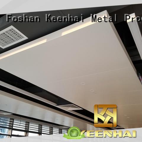 Foshan aluminum ceiling panel provider for office building Keenhai