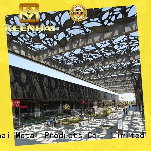 cut laser cut fence panels supplier for decoration Keenhai