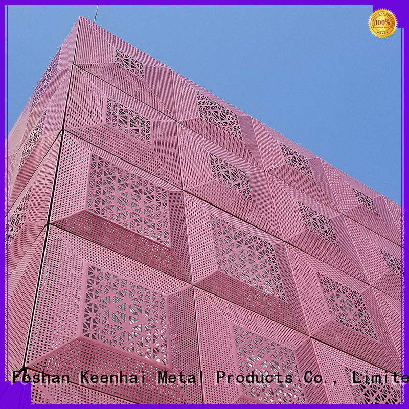 advanced laser cut panels facade manufacturer for architectural projects