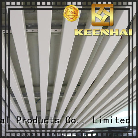 strip decorative metal ceiling tiles fast shipping for sale Keenhai