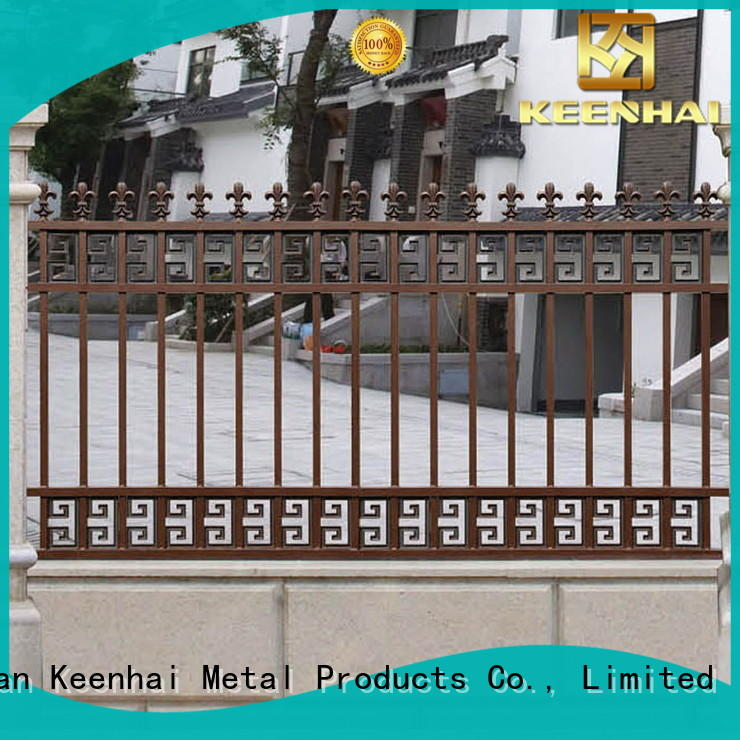 cheap metal garden fencing outdoor from China for villa