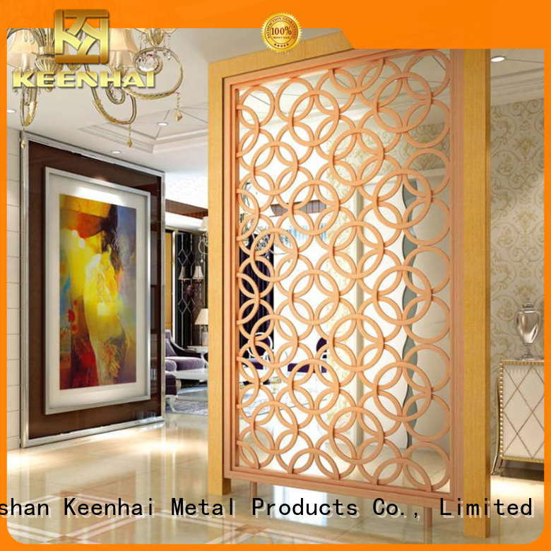 Keenhai made metal screen panels factory for sale