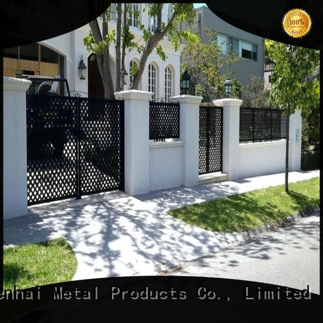 cheap fence panels courtyard supplier for public square