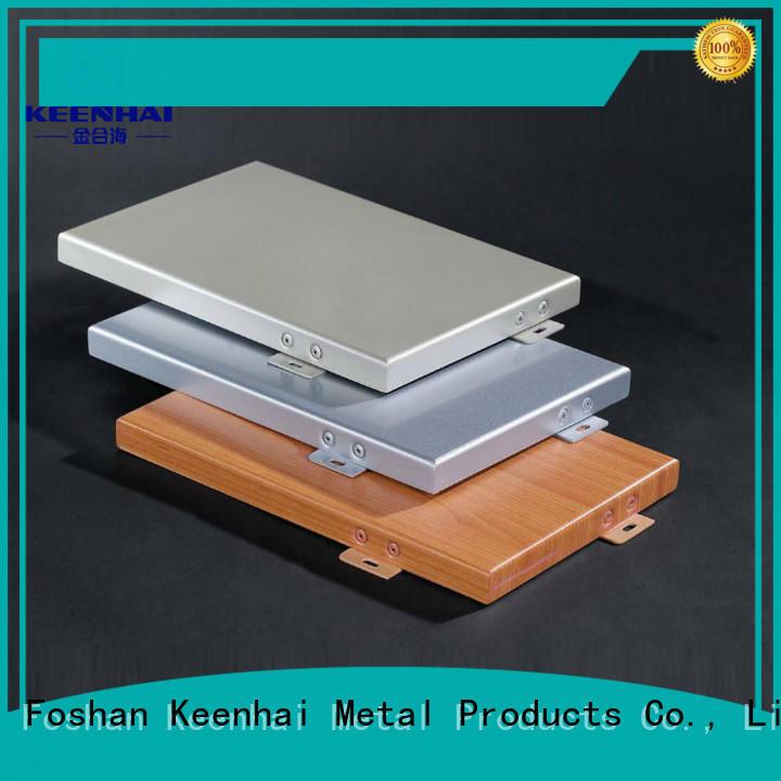 Keenhai aluminium cladding factory