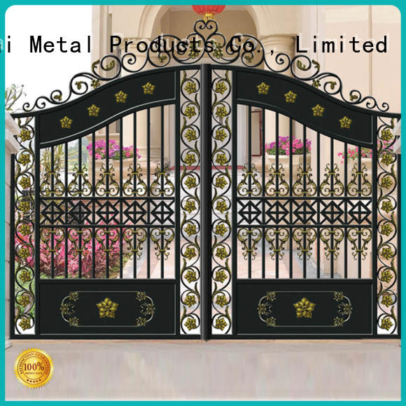 Keenhai coating outdoor gate factory for sale
