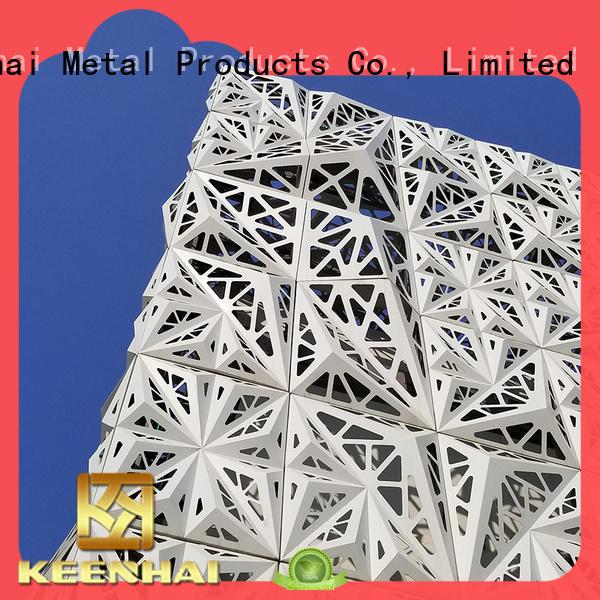 various colors exterior cladding solution Keenhai