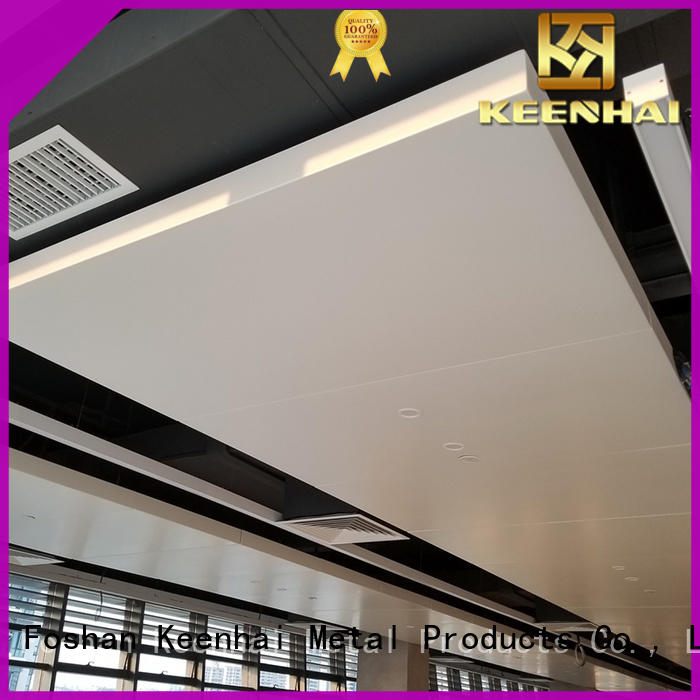 Keenhai Foshan baffle ceiling provider for decoration