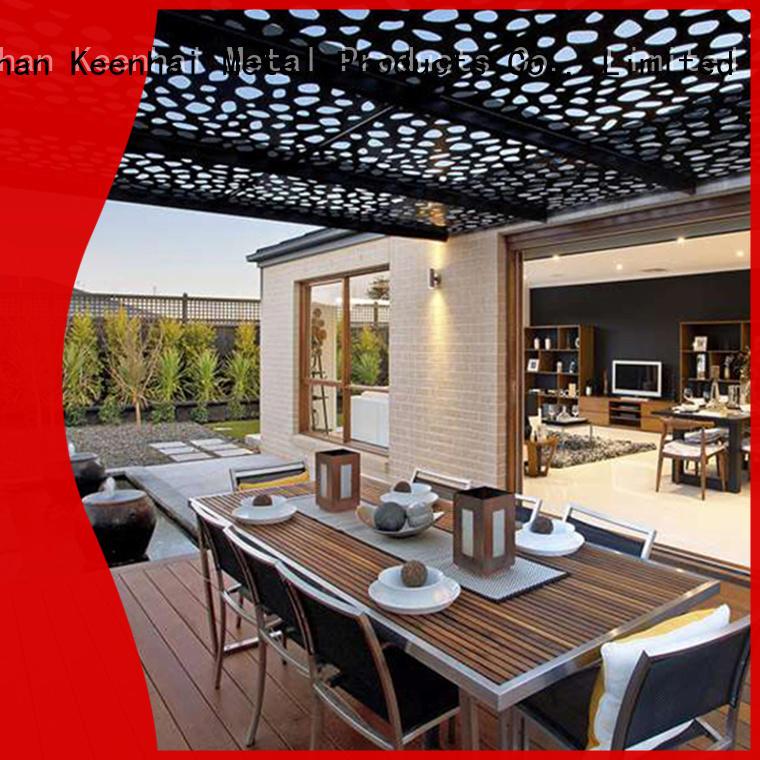 metal laser cut wall panels uk supplier for decoration Keenhai