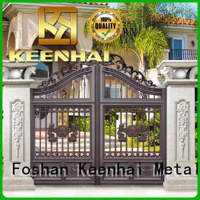 Keenhai customized metal garden gates factory for garden