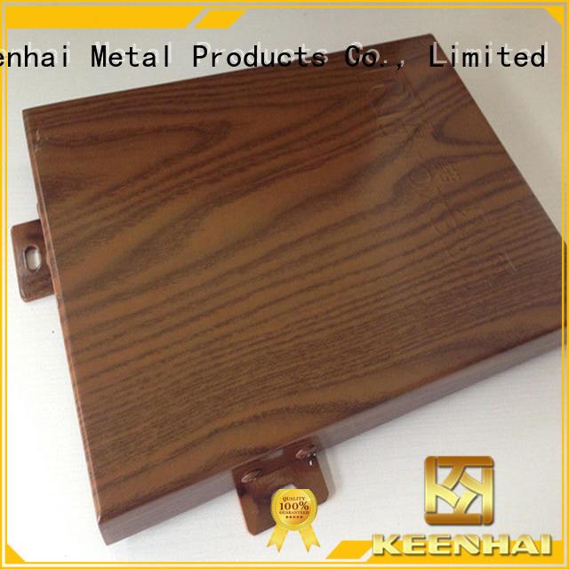 Keenhai aluminium cladding sheet perforated for decoration
