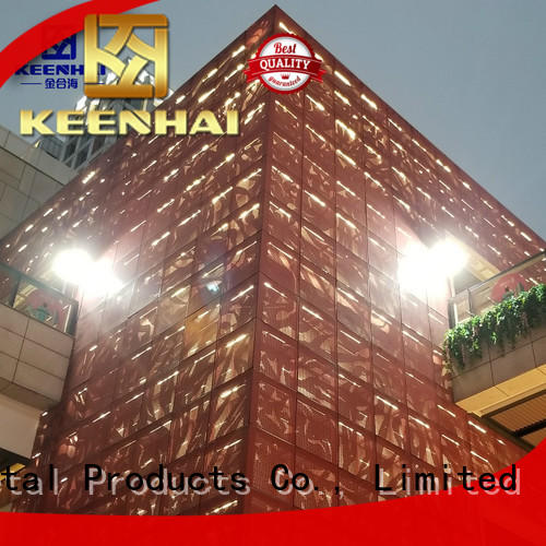 advanced laser cut panels pattern manufacturer for architectural projects