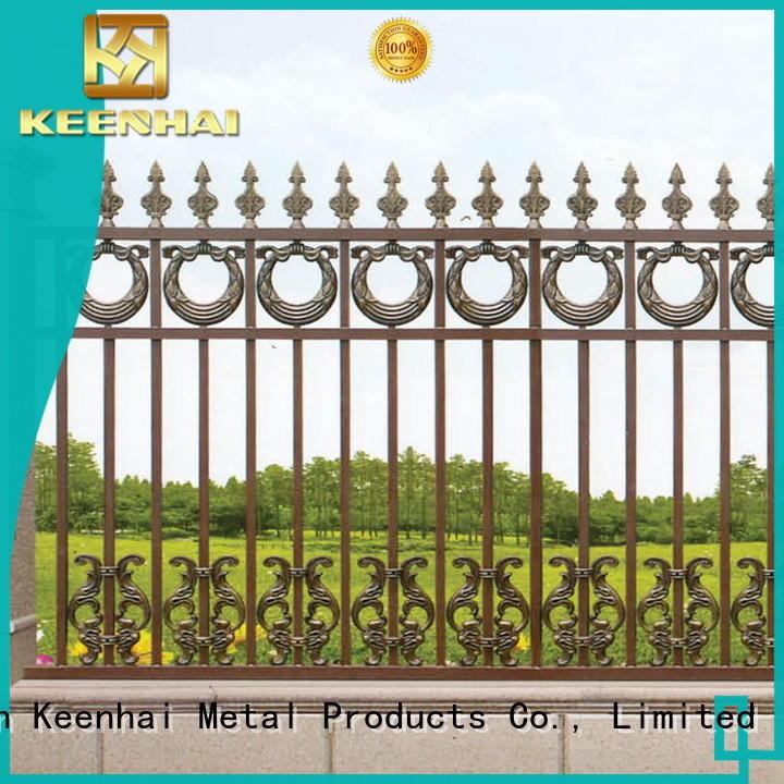Keenhai cheap outdoor fencing materials for garden