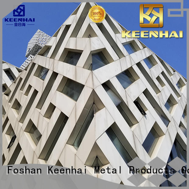 Keenhai professional external wall cladding supplier for building facades