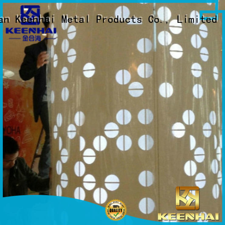 cladding column perforated for interior decoration Keenhai