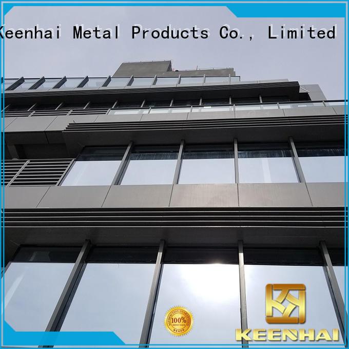 Keenhai solid aluminium cladding factory for interior applications