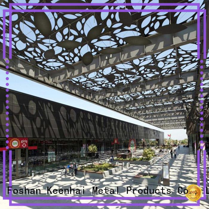 Keenhai fantastic laser cut ceiling panels supplier for decoration