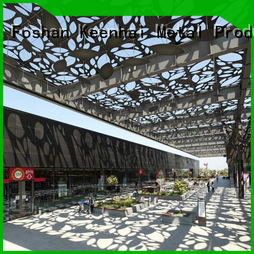 aluminum laser cut ceiling supplier for decoration