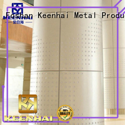 exquisite external wall cladding column supplier for decoration