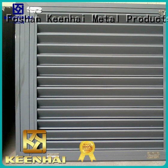 Metal Louver With Ventilation Feature