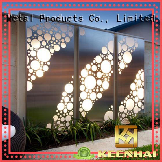Keenhai grandeur decorative metal panels exterior perforated for club