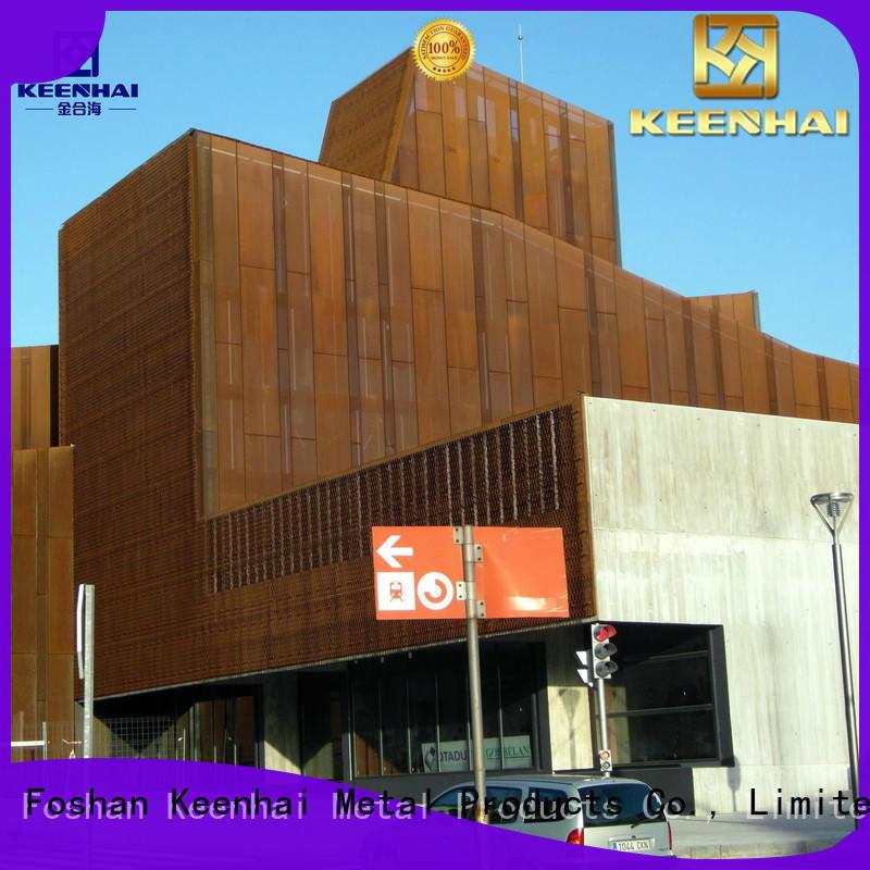 Keenhai steel corten steel panels provider for interior decoration