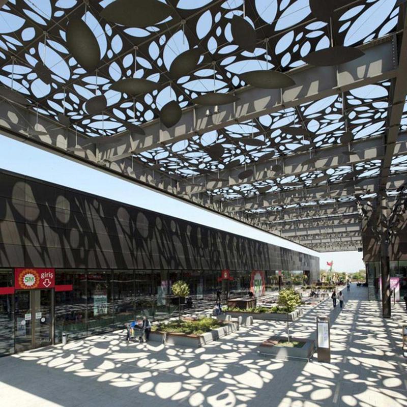 Outdoor Aluminum Shade Ceiling Panel