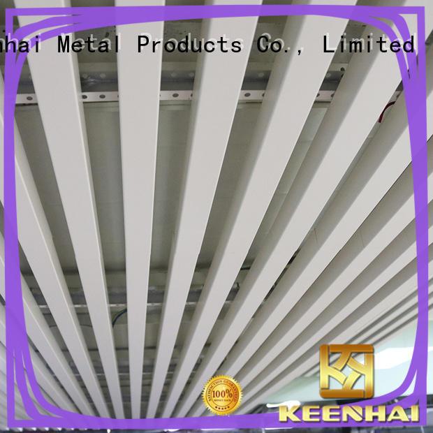 Interior tubular ceiling Aluminum ceiling tiles