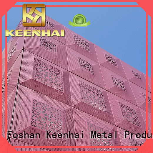 Keenhai advanced laser cut metal panels from China for construction projects