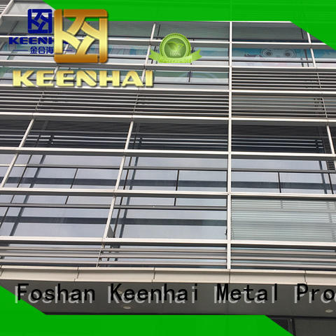 Keenhai aluminum stainless steel balustrade fabrication