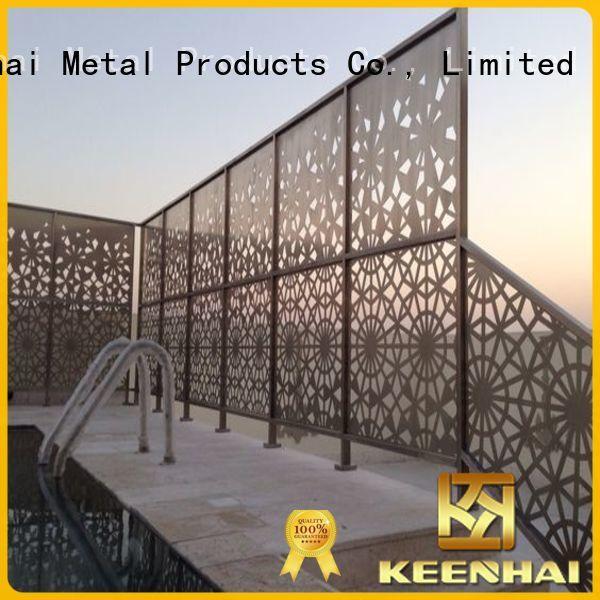 contemporary metal garden screens anticorrosion supplier for club