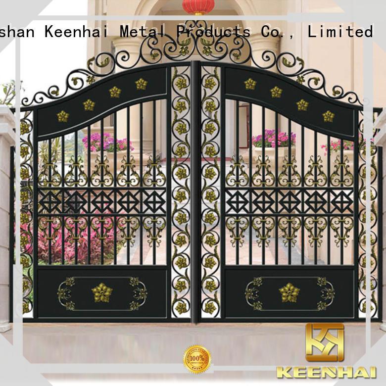 Keenhai stable supply outdoor gate supplier for garden