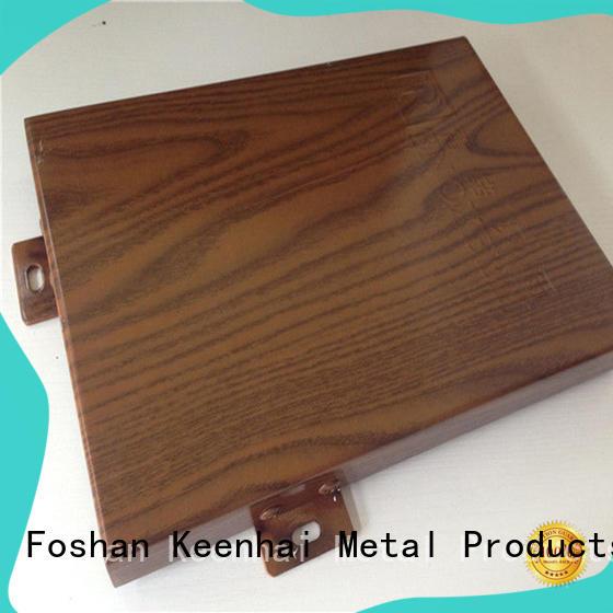 perfect aluminium panel sheet wood design for decoration