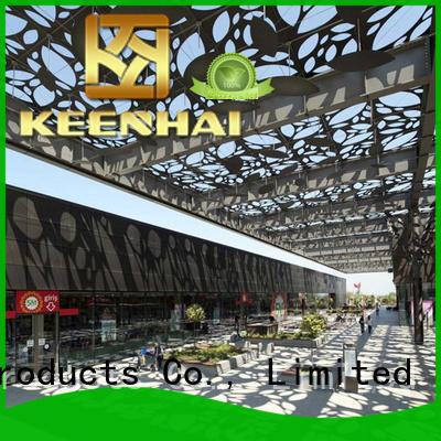 decoration laser cut steel panels supplier for decoration Keenhai