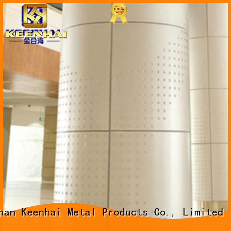 Keenhai exquisite metal column cladding supplier for decoration