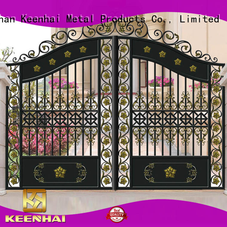 Keenhai stable supply garden gate factory for decoration