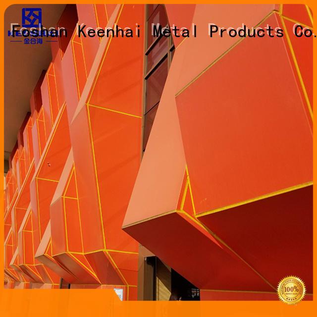 Keenhai professional external wall cladding supplier for exterior decoration