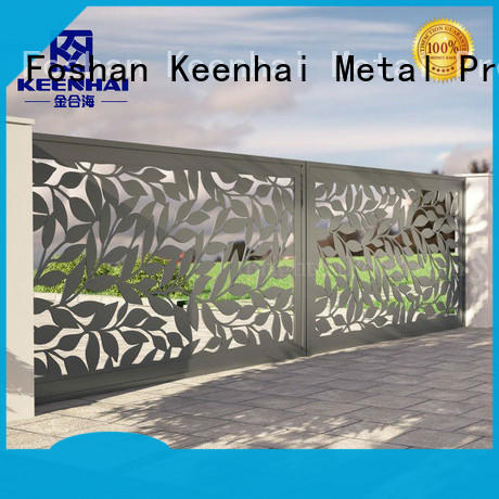 Keenhai low production cost temporary garden fencing manufacturer for public square