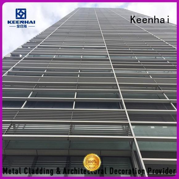 Wholesale exterior louvers design wall Keenhai Brand