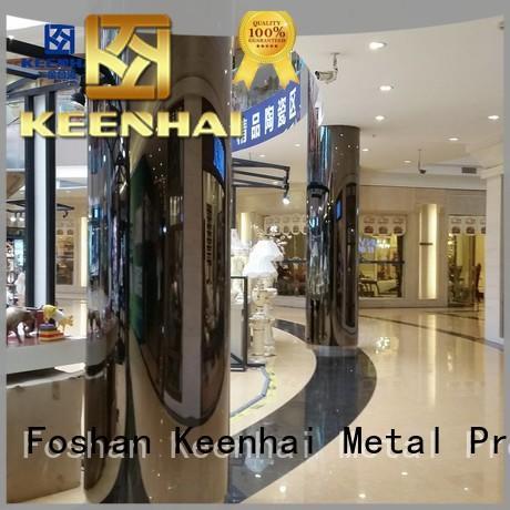 Keenhai cheap metal cladding panels from China for villa
