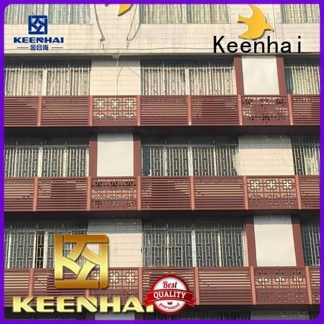 aluminum exterior wall Keenhai Brand architectural decoration supplier