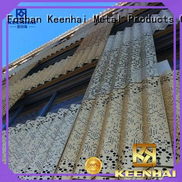 Keenhai sturdy construction corrugated metal roofing installation for hotel