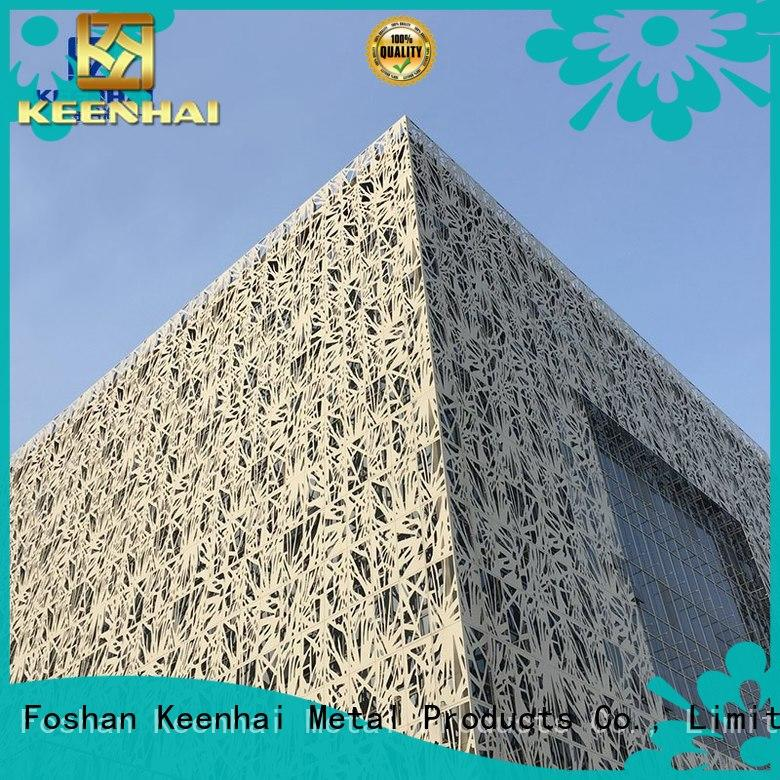 Keenhai environment-friendly composite cladding panel for curtail wall