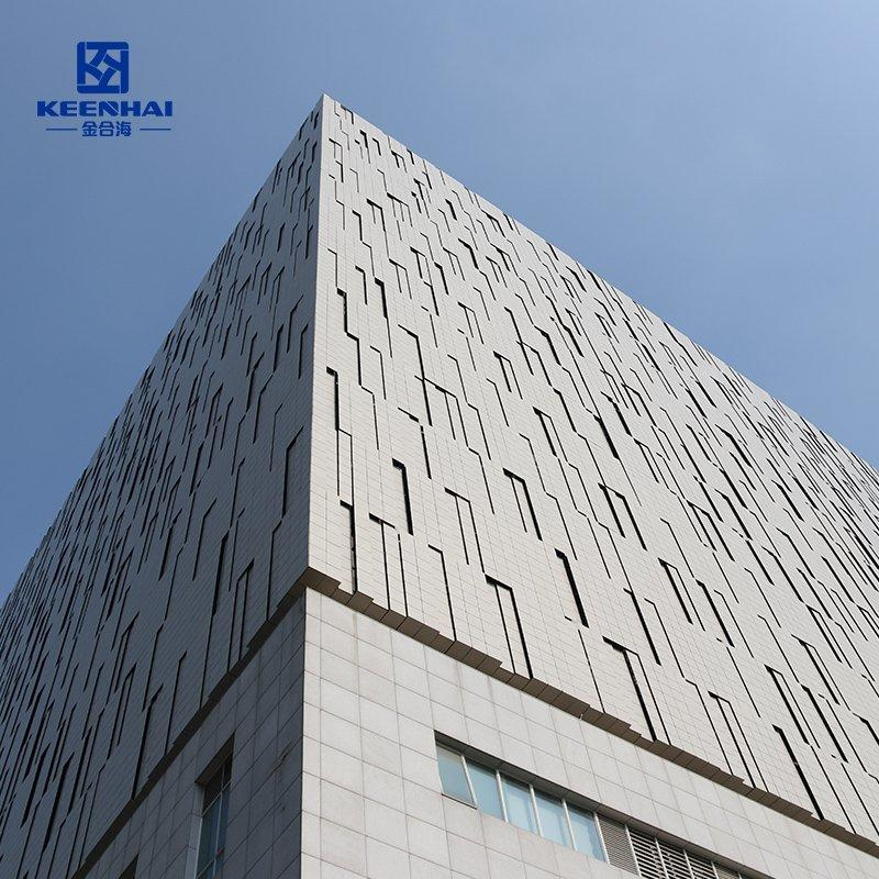 3D Facade cladding panel