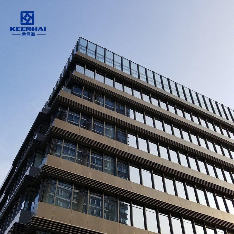 Aluminum solid cladding panel