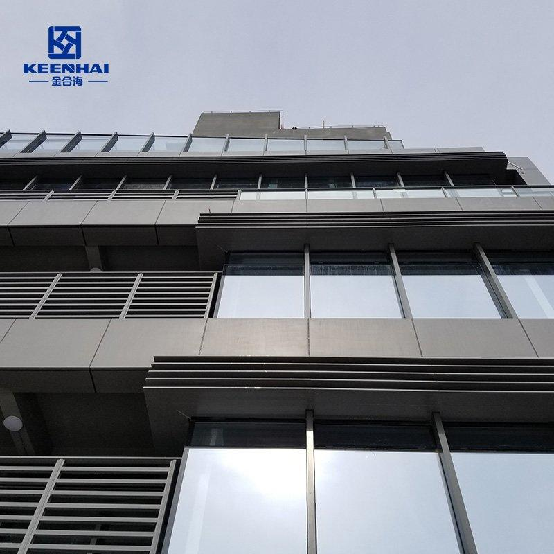 Aluminum solid cladding panel