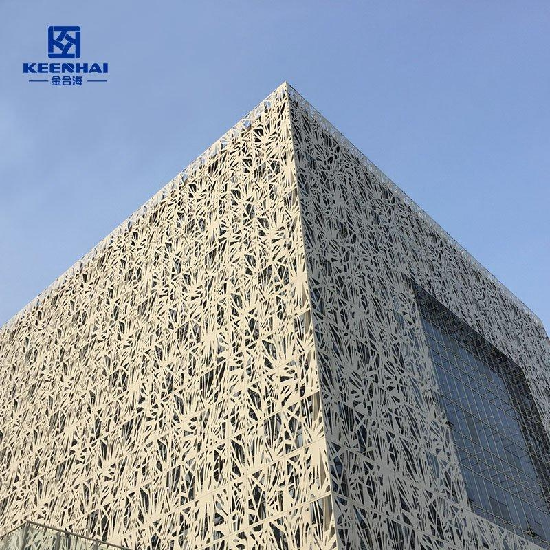 Laser Cut Design Art Facade Panel Wall Cladding