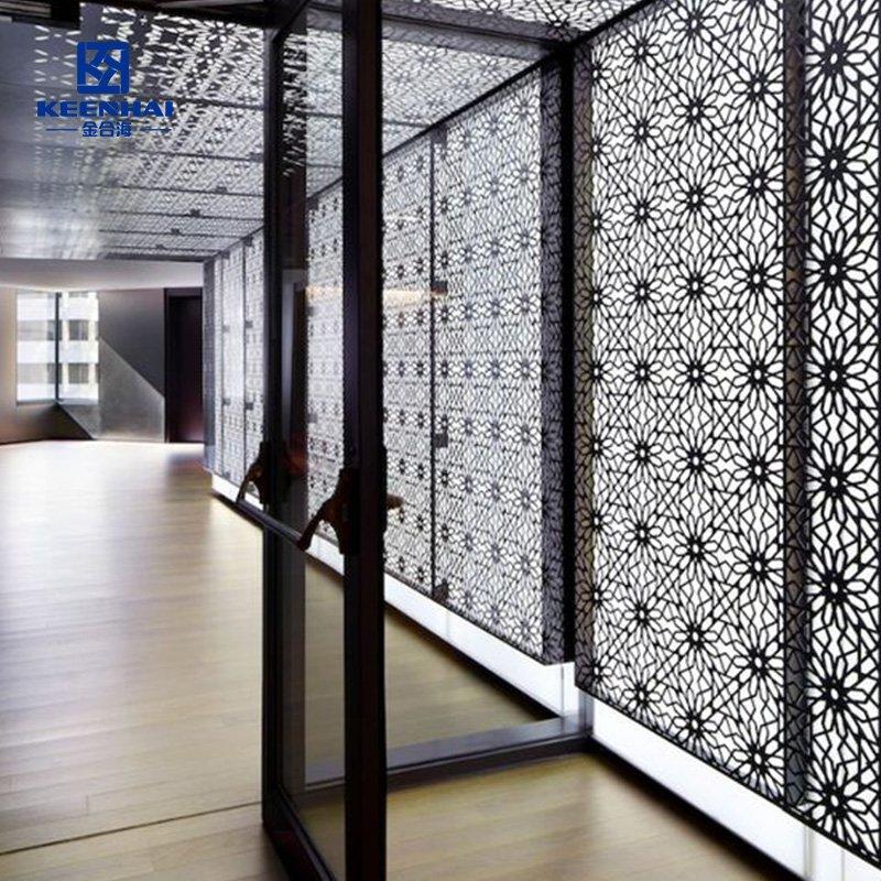 Aluminum Laser cut ceiling panel