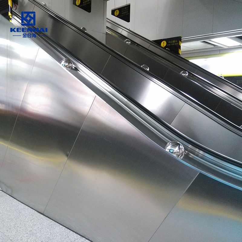 Stainless steel Escalator cladding