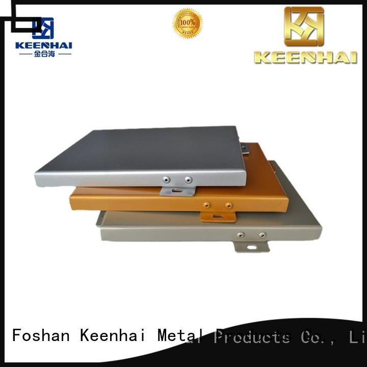 Keenhai standardized aluminum panels design for renovations